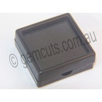 Plastic Display Box with Glass Lid 50mm x 50mm