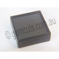 Plastic Display Box with Glass Lid 60mm x 60mm
