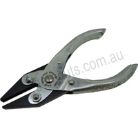 Parallel Serrated Flat Nose Plier