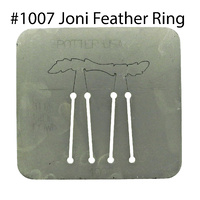 Pancake Die 1007 Joni Feather Ring