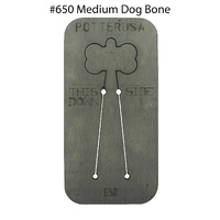 Pancake Die 650 Medium Dog Bone with Hole Tab