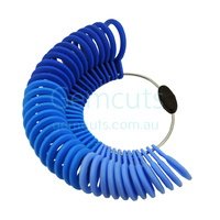 Plastic Ring Sizer Set A to Z, 1 to 6