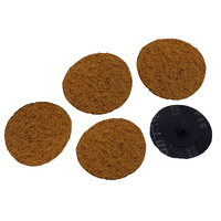 Roll Lock Disc Cork Polishing - 5 Pack