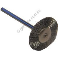 Steel Flat Brush - 2.35mm Shaft