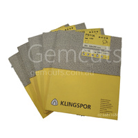 Klingspor PS14 Silicon Carbide Sheets - 230mm x 280mm