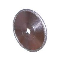 Convex Diamond Wheel 75mm x 3mm - 500 Grit