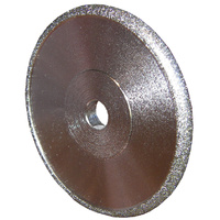 Convex Diamond Wheel 75mm x 6mm - 80 Grit