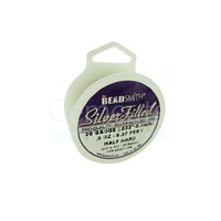 Beadsmith Silver Filled Wire - Half Hard