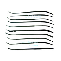 Steel Riffler Files 170mm - Set of 10 - Fine Cut