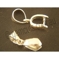 Pendant Pinch Clasp with Bail - Medium