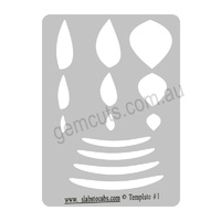Slabs to Cabs Template Set of 12