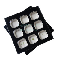 Gem Vue Suspension Gemstone Box - Set of 9 in Tray