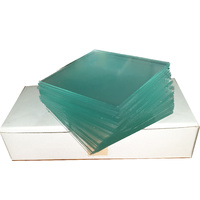 Triplet Backing Glass  - Frosted One Side - 50mm x 50mm x 0.9mm (50 Pieces)