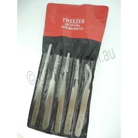 Non Magnetic Tweezers Set of 5