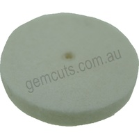 Unmounted Extra Hard Felt Wheel 25mm