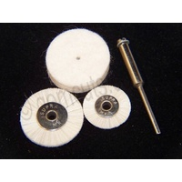 Unmounted Polishing Wheels Set