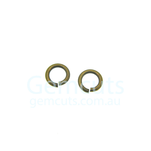Bronze Colour Jump Ring ID 3.6mm