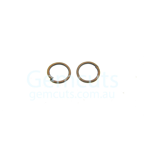 Antique Copper Colour Jump Ring ID 5.1mm