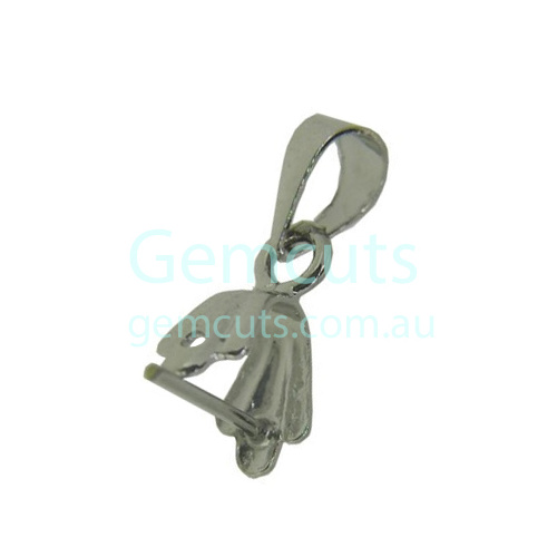 Pinch Clasp with Pin – Silver Colour