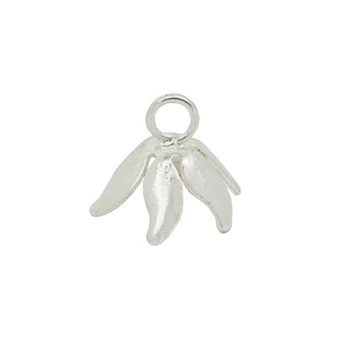 Flower Bail with Jump Ring – Six Petals