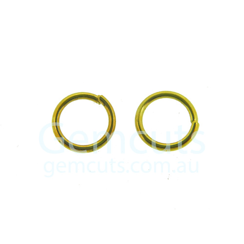 Gold Colour Jump Ring ID 5.5mm
