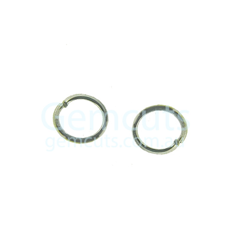 Silver Colour Jump Ring ID 3.3mm