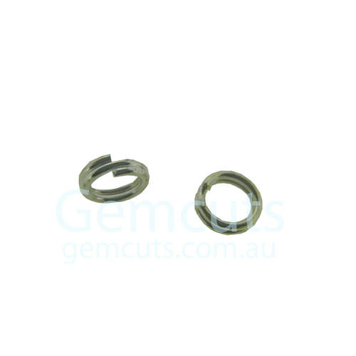 Silver Colour Double Split Ring ID 3.2mm