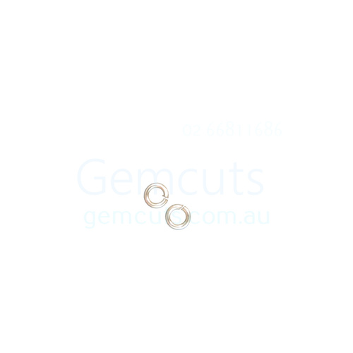18G Jump Ring ID 3mm Non Tarnish Silver