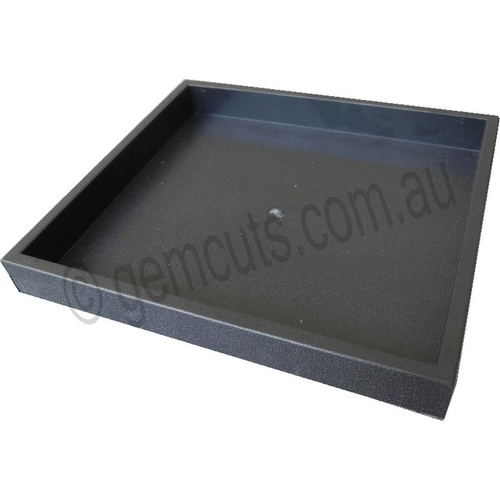 Stackable Plastic Display Tray 210mm x 185mm - Black