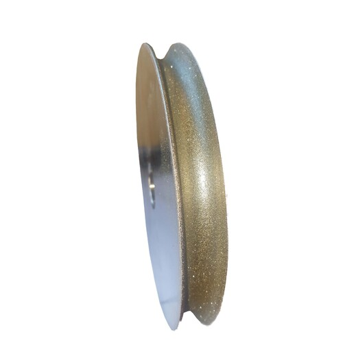 Plated Diamond Concave Wheel 6 Inch - 320 Grit