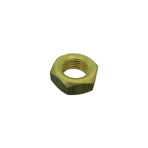 Hex Nut Brass 5/8 Inch Left Hand