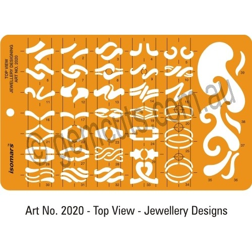 Jewellery Design Template - Fancy Rings