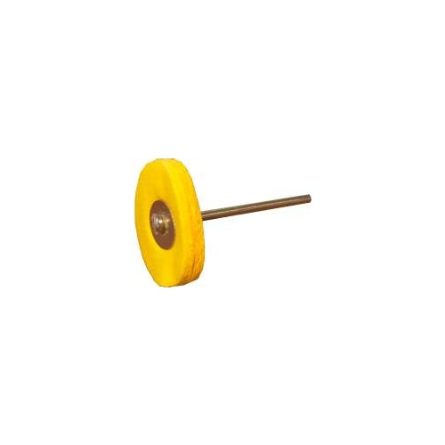 Muslin Wheel 22mm - 2.35mm Shaft