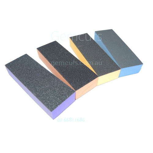 Super Sanding and Finishing Foam Block – 4 Pack