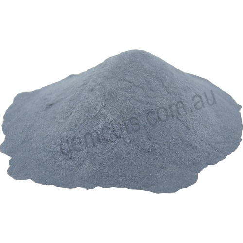 Silicon Carbide Grit For Tumbling or Lapping [Grit Size: 46] [Weight: 500 Grams]