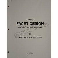 Facet Design Volume 7 - Antique Square Cushion