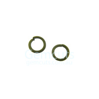 Brass Colour Jump Ring ID 4.6mm