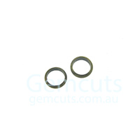 Half Round Bronze Colour Jump Ring ID 3.5mm