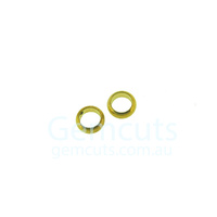 Half Round Gold Colour Jump Ring ID 1.9mm