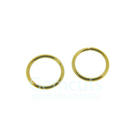Gold Colour Jump Ring ID 7.4mm