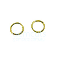 Gold Colour Jump Ring ID 5.4mm