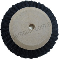 Jewellers Wooden Hub Chungking Wheel Brush 65mm (2 Rows)