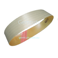 Crystalite Plated Diamond Dot Belt 6 Inch x 1.5 Inch