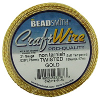 Craft Wire 21GA Twisted