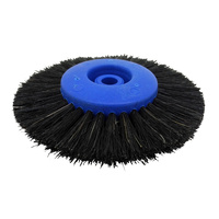 Jewellers Chungking Wheel Brush 80mm (3 Rows)
