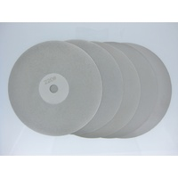 Diamond Plated Flat Lap Set of 5 - 150mm