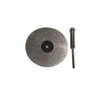 Mini Plated Diamond Saw Blade - 50mm with mandrel