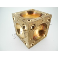 Doming Block Brass - Extra Large