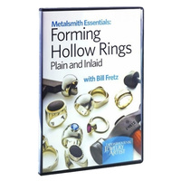 Metalsmith Essentials: Forming Hollow Rings DVD