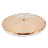 GEMMASTA Standard Copper Faceting Lap 200mm (8 inch)